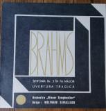 LP Brahms -  Simfonia Nr. 3 În Fa Major / Uvertura Tragică