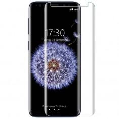 Folie Sticla Curbata Samsung Galaxy S9 Plus Flippy Transparent