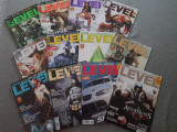 Colectie completa reviste Level an 2009- 12 numere