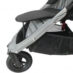 Suport picioare carucior Baby Jogger City Mini 3/4/GT, material poliester, Gri