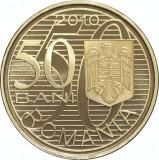 50 bani 2010 AUREL VLAICU PROOF cel mai RAR din serie