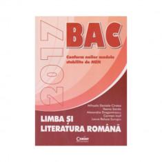 Bacalaureat 2017 limba si literatura romana - Mihaela Cirstea, Ileana Sanda, Alexandra Dragomirescu, Carmen Iosif, Laura Surugiu