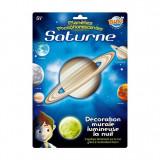 Decoratiuni de perete fosforescente – Planeta Saturn