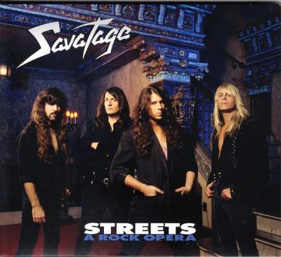 Savatage Streets A Rock Opera digipack (cd) foto