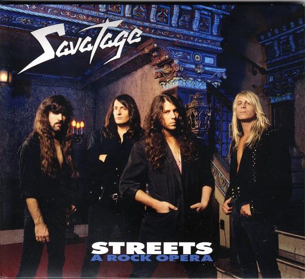 Savatage Streets A Rock Opera digipack (cd)