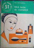 Mică lecție de cosmetică