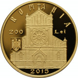 Moneda Aur 140 ani Catedrala Sf. Iosif Bucuresti