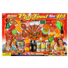 Set creativ alimente Play Food, 114 piese, Multicolor