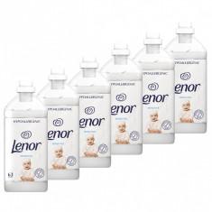 6 x Balsam de rufe Lenor Sensitive Hypoallergenic, 6 x 1.9L