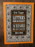 Letters from Bucharest / Scrisori din București (1944-1946)-Eric Tappe (bilingv)