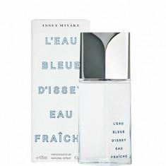 Apa de toaleta Issey Miyake L'Eau Bleue D'Issey Fraiche, 125 ml, Pentru Barbati