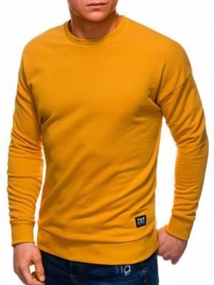Bluza barbati B1229 - mustar foto