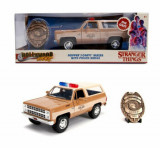 Macheta metalica 1980 chevy police k5, 1:24