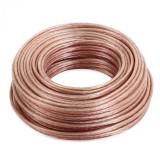 Auna 25m de Cablu pentru difuzor 2 x 2, 5mm²