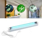 Lampa bactericida UVC 8W, tub germicid Osram, suprafata actiune 8 mp, dezinfectare si sterilizare, fixare perete