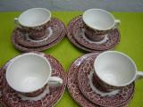 Portelan englezesc, frumos set de mic dejun