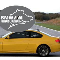 Sticker auto geam BMW M (v2)