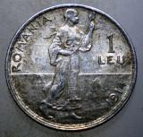 R.052 ROMANIA CAROL I 1 LEU 1914 ARGINT 5g