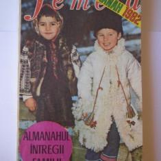 Femeia almanah, an 1982