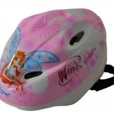 Casca protectie pentru copii Winx, canale pentru ventilare, 3 ani+, Dino Bikes