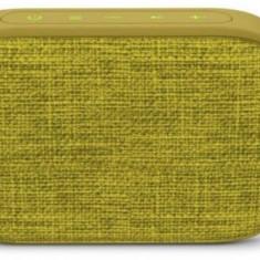 Boxa Portabila Energy Sistem Fabric Box 1 + Pocket Kiwi (TWS, Bluetooth v5.0, 3W, USB&microSD player, FM Radio, Galben)