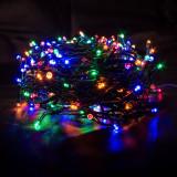 Instalatie luminoasa LED de Craciun, 400 led-uri, multicolor, 50m, Alimentare 220V