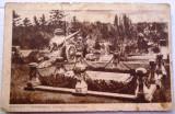 Carte postala - Bucuresti - Monumentul eroului necunoscut 1943  Cenzurat