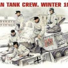+ Kit figurine 1/35 Miniart 35021 - German Tank crew ww2 (FARA CUTIE) +