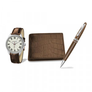 Set barbati cadou Montine ceas, portofel si pix