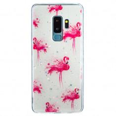 Cumpara ieftin Husa Fashion Samsung Galaxy S8 Plus Flamingo