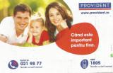 Romania, Provident, calendar de buzunar, 2014