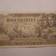 100 lei 1947 August