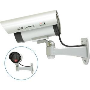 Camera falsa pentru supraveghere, LED rosu, alimentare baterii