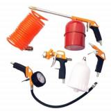 Set 5 accesorii de vopsit pentru compresor, Strend Pro Airtool W-2004A1 Mania Tools