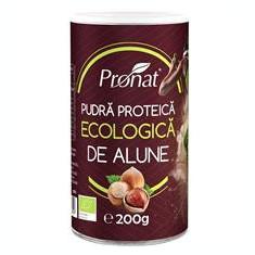 Pudra Proteica de Alune Bio 200gr Pronat Cod: PRN7399