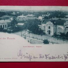 Tecuci Vederi din Tecuciu Hotel Bulevard Teatrul, Circulata, Printata, Galati