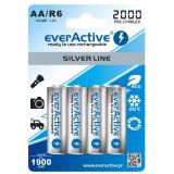Acumulatori Everactive , R6, AA 2000 MAh Ready To Use 4 Bucati / Set