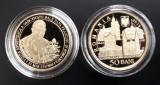 50 BANI 2019 PROOF - PAPA FRANCISC, Argint