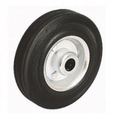 Roata pentru carucioare pe suport metalic Strend Pro Renost XD-V100/12C , 100x27mm, max 60Kg