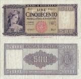 1947 (20 III), 500 lire (P-80a.1) - Italia!