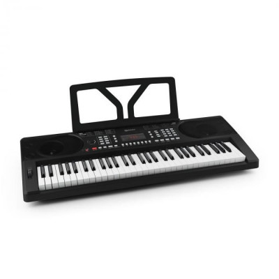 SCHUBERT Etude 300 Orga cu 61 taste 300 sunete 300 ritmuri , 50 de melodii demo, negru foto