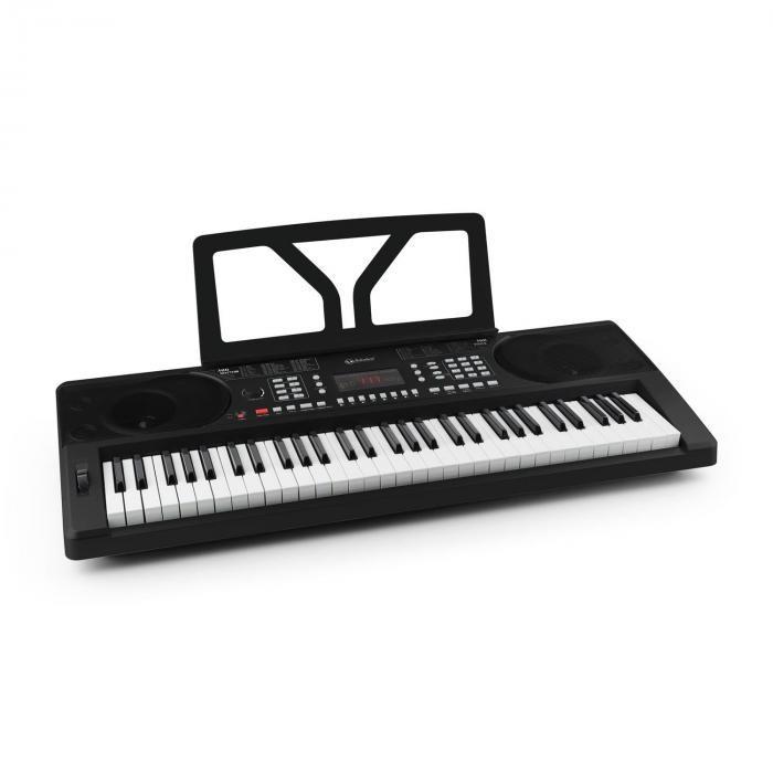 SCHUBERT Etude 300 Orga cu 61 taste 300 sunete 300 ritmuri , 50 de melodii demo, negru