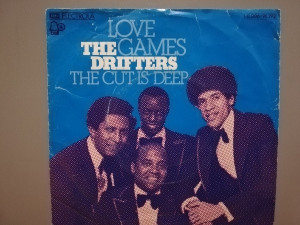 The Drifters – Love Games …(1974/EMI/RFG) - VINIL Single/Impecabil