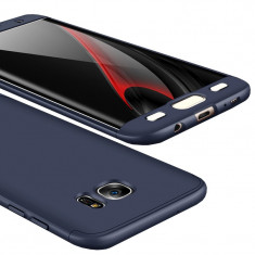 Husa SAMSUNG Galaxy S7 Edge - 360 Grade (Bleumarin)
