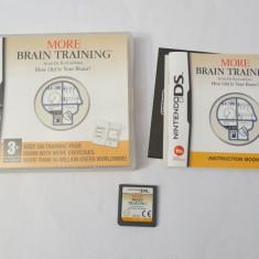 Joc consola Nintendo DS 2DS 3DS - More Brain Training