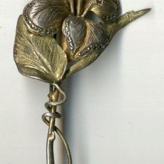 Brosa dama Argint Masiv Pietre Model vechi