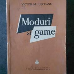 VICTOR M. IUSCEANU - MODURI SI GAME