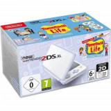 Consola New Nintendo 2DS XL White&Lavender+Tomodachi Life