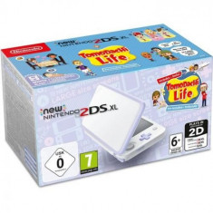 Consola New Nintendo 2DS XL White&Lavender+Tomodachi Life