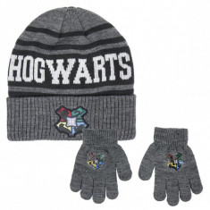 Set Caciula Fes Harry Potter + Manusi Harry Potter Hogwarts